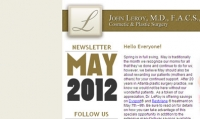 John LeRoy MD  E-Newsletter