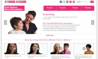 Pink Ribbon Story Foundation Website