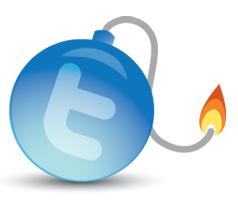 twitter-bomb