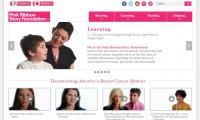 Pink Ribbon Story Foundation Website