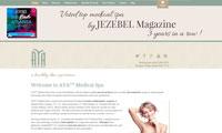 Aya Medical Spa Website