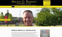 Mickey G. Roberts, Attorney at Law Website