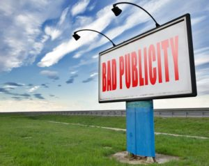 "Our ""Bad Romance"" with Bad Publicity"
